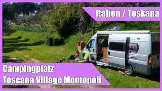 Campingplatz Toscana Village in Montopoli Val d'Arno (Toskana)