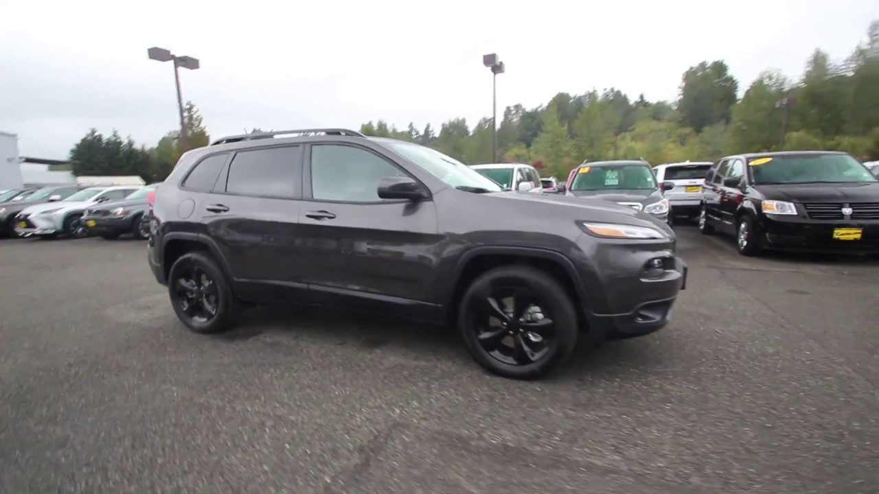2018 jeep cherokee altitude 4x4 | granite crystal metallic