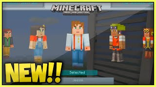 (NEW!!) Minecraft 'TU34' StoryMode Skinpack Released! + Review (Xbox360/Ps3/XboxOne/Ps4)
