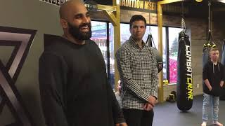 UFC Ottawas Arjan Bhullar says he trains while Juan Adams parties and chases women