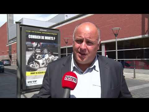 Roubaix : campagne choc de sensibilisation aux dangers de la route