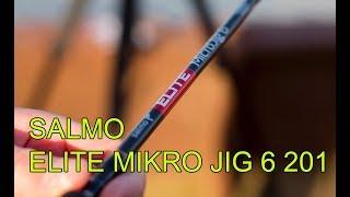Обзор SALMO ELITE MICRO JIG  6 201 БЮДЖЕТНЫЙ спинниг для МИКРОДЖИГА