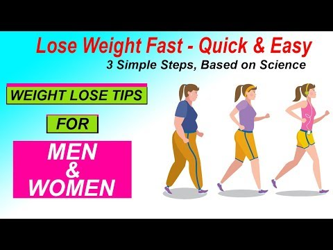 how to lose weight fast | weight loss and fat loss tips for men and women In hindi