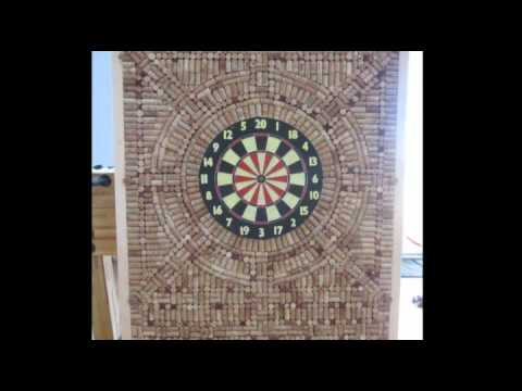 Dart Wine Cork Board