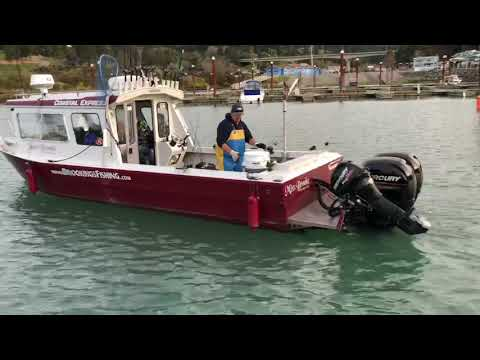 Brookings Oregon Charter Boat Fishing