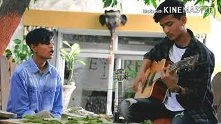 Maya ma cover-Sushant kc  (ft.Pranav raj bhandari & Aayush jung swar)