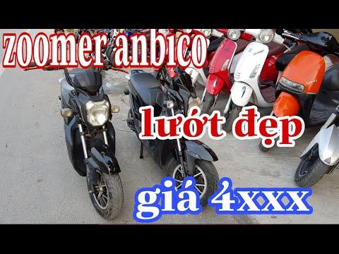 Xe điện Cũ Zoomer Anbico/ Zoomer Cu Giá Tốt