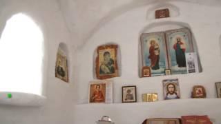 В Омской области появилась церковь из снега