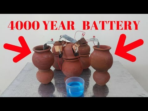 Recreating a 4000 Year Old Battery - Was Electricity Used in Ancient Times?