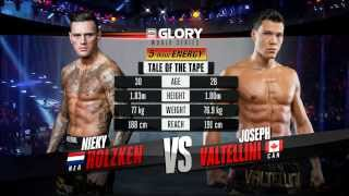 GLORY 13 Tokyo - Nieky Holzken vs. Joe Valtellini (Full Video)
