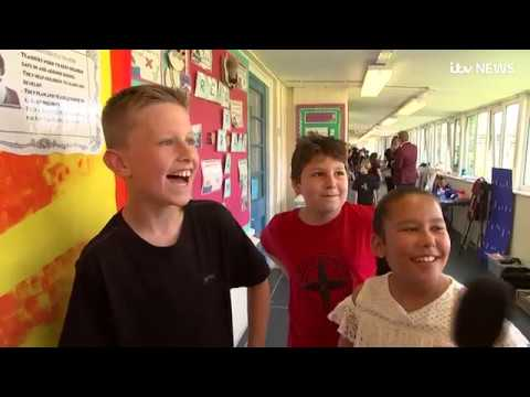 Pupils create school musical of a lifetime helped by Andrew Lloyd Webber | ITV News