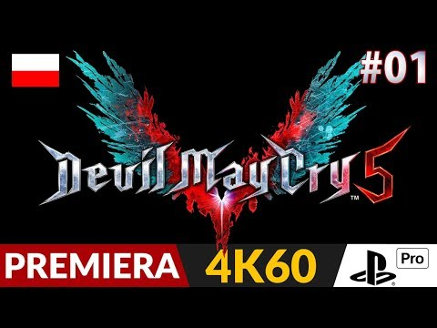 Devil May Cry 5 PL 😈 #1 (odc.1) 💦 Prolog i premiera | DMC V Gameplay po polsku w 4K thumbnail