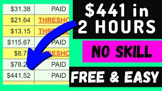 $441 Earned in 2 Hoขrs | Fastest Way To Make Money Online in 2021 | Clickbank Affiliate Marketing