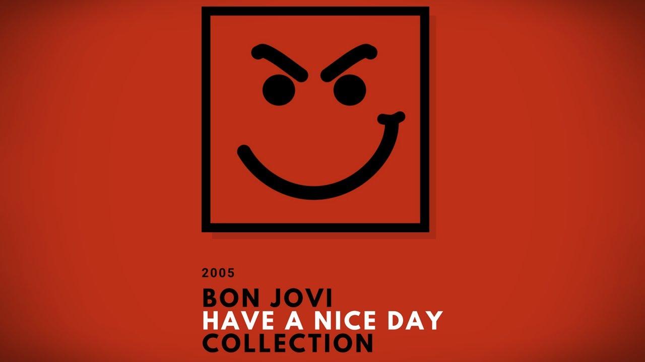bon jovi have a nice day album tracklist