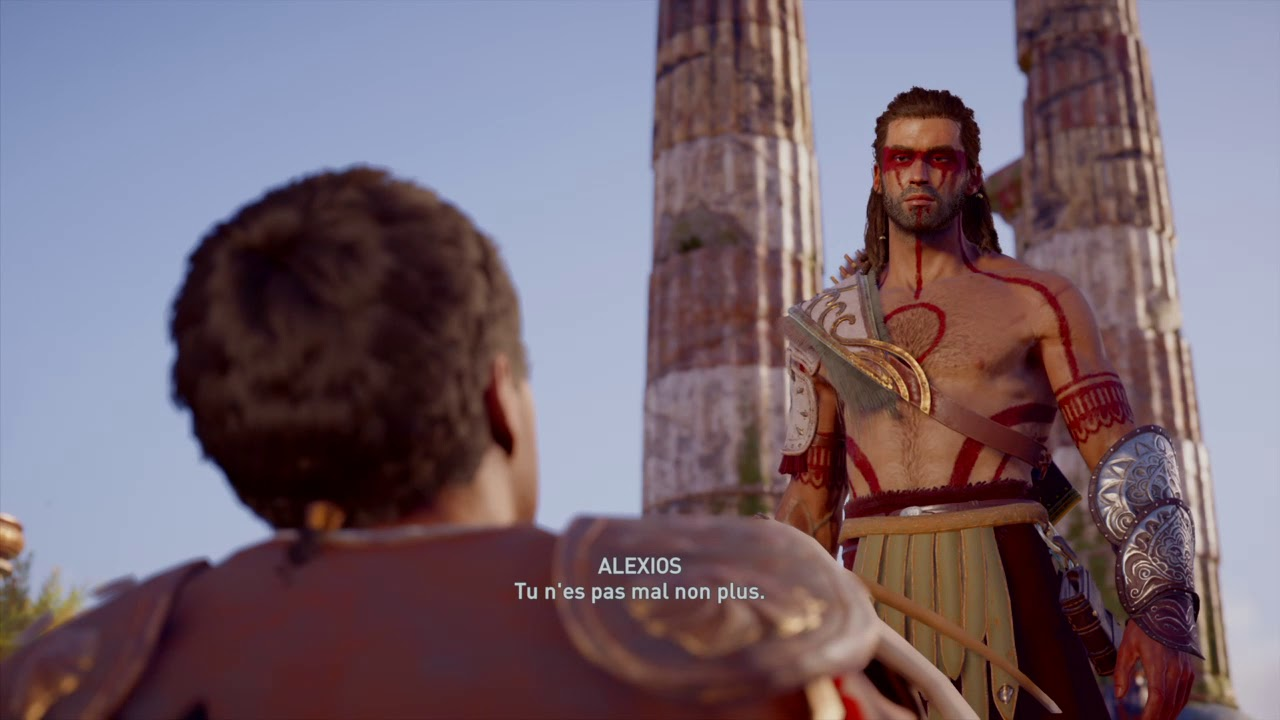 Assassin S Creed Odyssey Romance Gay Alexios Thaletas Francais
