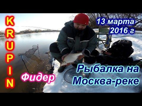 рыбалка в черте города на москва реке