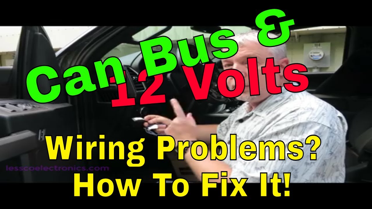 how to add 12 volt accessories to can bus wiring