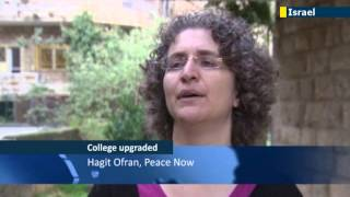 Israeli higher education: West Bank settlement college upgraded to university status