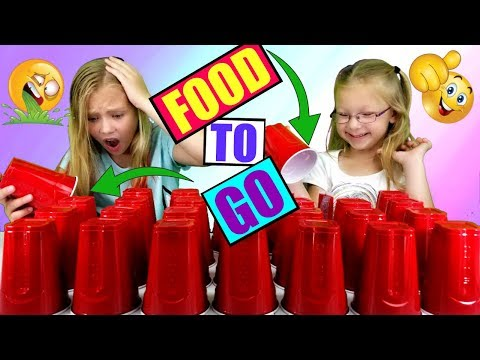 SIS vs SIS - FOOD CHALLENGE - Food To Go Edition!!!