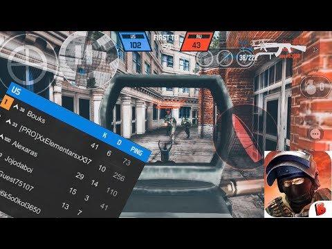 Bullet Force IOS Gameplay- 40 Kills And INSANE Gun Game Comeback