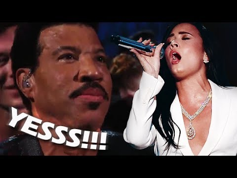 Thumbnail: Famous People REACTING to Demi Lovato's VOCALS & PERFORMANCES!