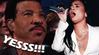Video Famous People REACTING to Demi Lovato's VOCALS & PERFORMANCES! download MP3, 3GP, MP4, WEBM, AVI, FLV Maret 2018