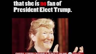 Donald Trump: 'Over-rated' Meryl Streep a 'Hillary Flunky'