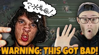 Madden 19 YEAR OLD TRASH TALKING LOSER HAS A MIC AND RAGES BAD!! Madden 18 RTE