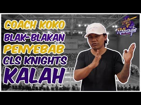 Coach Koko Blak Blakan soal Kekalahan CLS Knights Indonesia di ABL 2017 -2018