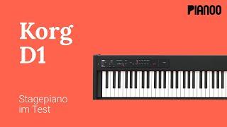 Digitalpiano für Anfänger - Test: Korg D1