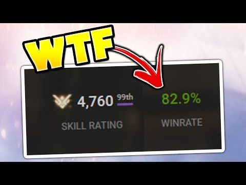 This is What An 80% Win Rate Pro Player Looks Like - Overwatch Montage