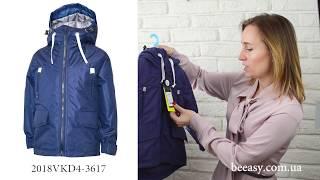 Обзор весенней куртки парка на мальчика из мембранной непромокаемой ткани от TM Be easy