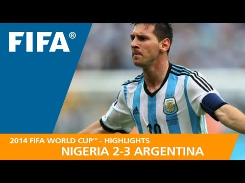 8139b104b44 NIGERIA v ARGENTINA (2:3) - 2014 FIFA World Cup™ - YouTube