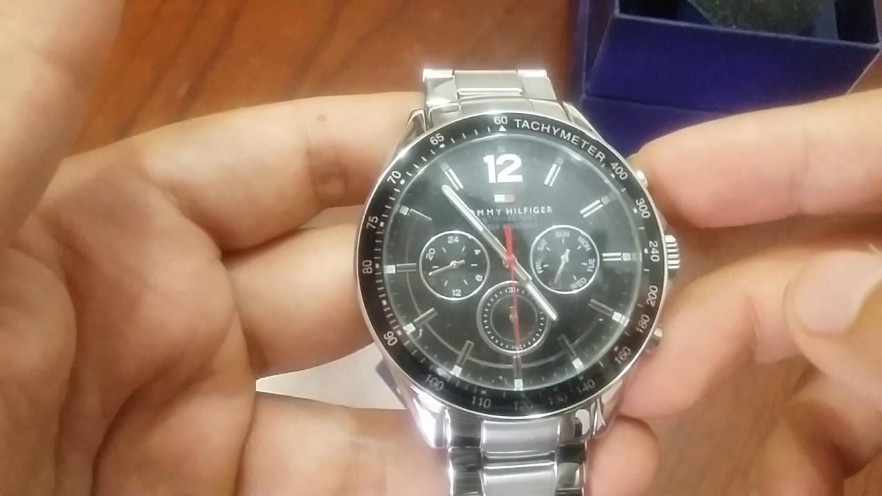 f1d3463947417e Tommy Hilfiger Men s 1791104 Sophisticated Sport Analog Display Quartz  Silver Watch