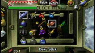 Legend of Zelda - Majoras Mask - Inside the Well - Acquiring the Mirror Shield