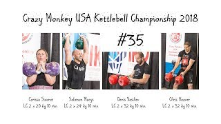 #35 | Crazy Monkey USA Kettlebell Sport Championship 2018 (Seattle, USA)