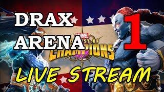 Drax Arena - part 1 | Marvel Contest of Champions Live Stream