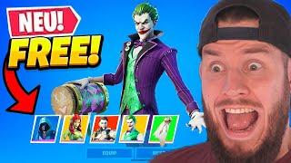 *NEUER* KOSTENLOSER SKIN in Fortnite! + neuen Joker Skin!