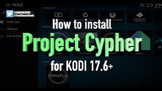 how to install project cypher add on for kodi 176 watch local usa channels cable tv using kodi