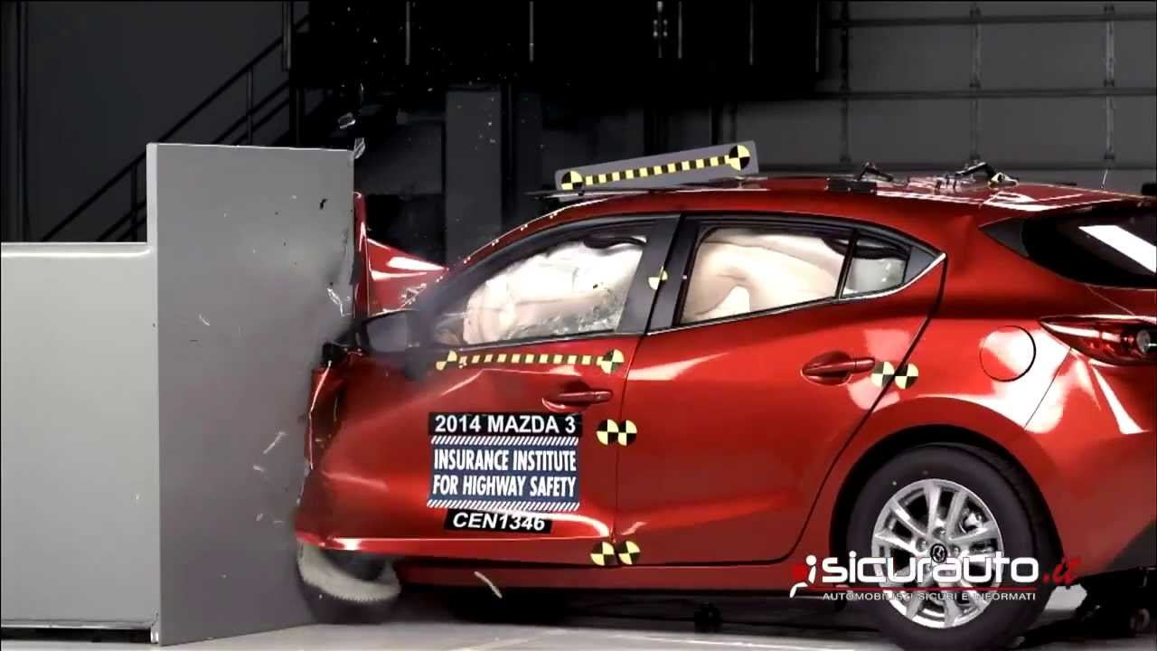 Crash Test IIHS   Mazda 3