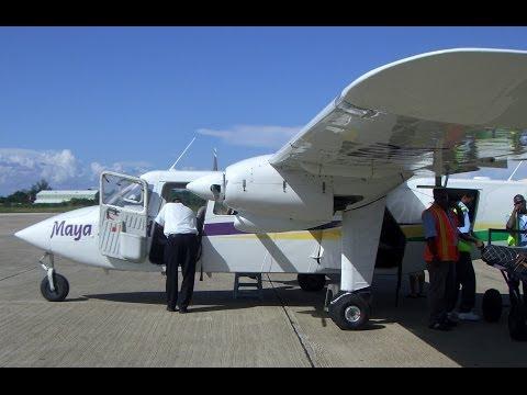Britten-Norman BN-2 Islander, Maya Island Air, Caye Caulker Airport, Belize, North America