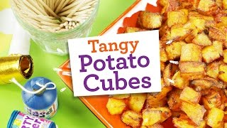 Easy Tangy Potato Cubes Recipe (gluten Free, Dairy Free, Egg Free, Nut Free, Soya Free)