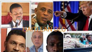 23 MAI DONALD TRUMP DI HAITI SAN ...  ANEL .HAITI NEWS