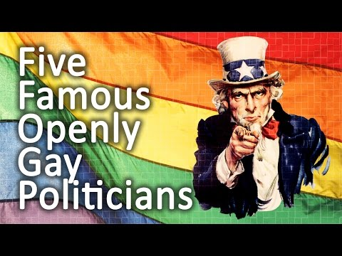 Five Famous Openly Gay Politicians