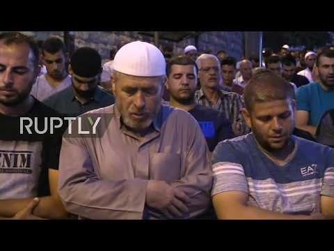 LIVE from Lion's Gate in Jerusalem following week of tension