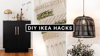 DIY IKEA HACKS - Super Affordable + Cute Room Decor + Furniture!