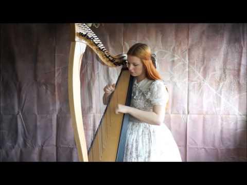 Yohio: Timescape ~ cover on the harp