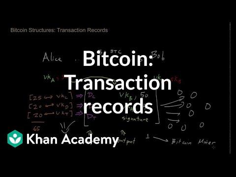 Bitcoin - Transaction Records