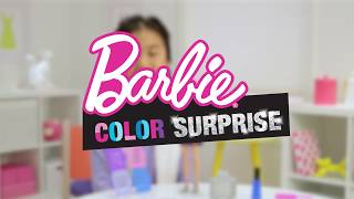 Barbie Μαλλιά Ουράνιο Τόξο - Πώς παίζεται