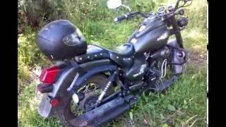 Рассказ о Мотоцикле Wels Трофейный 250 куб. после недели эксплуатации